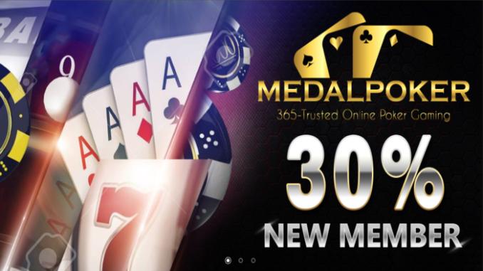 medal poker
