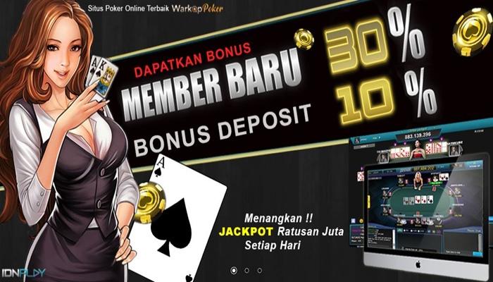 Warkop Poker Promo Bonus Member Baru 30