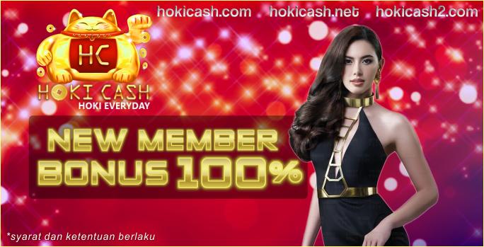 Hokicash Bandar Judi Online Tepercaya Bonus New Member 100