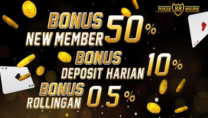 Kumpulan Situs Agen IDN Poker Online Bonus New Member 50